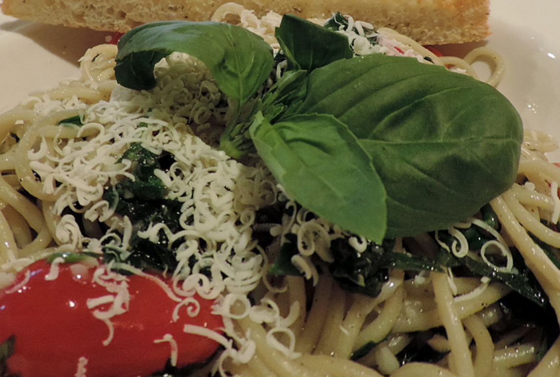 Spinach Spag