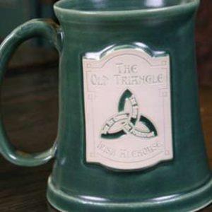 Pottery Mug - Green